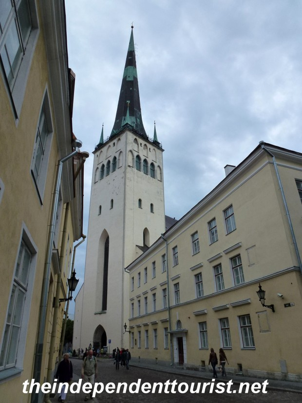 St. Olav's Church - it's hard to get a good picture - such a tall building in a compact space.