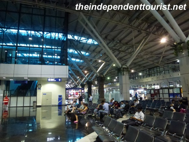 The modern airport in Aurangabad.