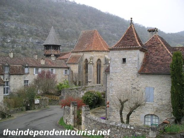 The beautiful hamlet of Espagnac-Ste-Eulalie.