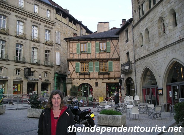 In the center of Figeac.