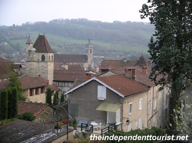 A view of the town of Figeac.
