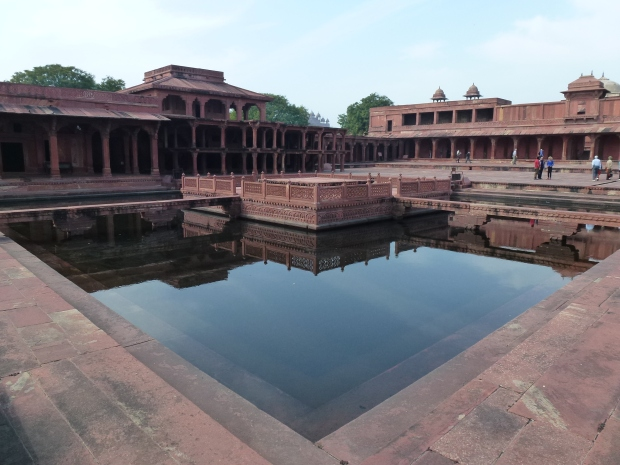 The Ornamental Pool (Anup Talao), used for water storage and private functions by the Emperor.