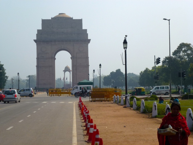India Gate, which pays tribute to India's soldiers who have sacrificed their lives in several of India's conflicts.