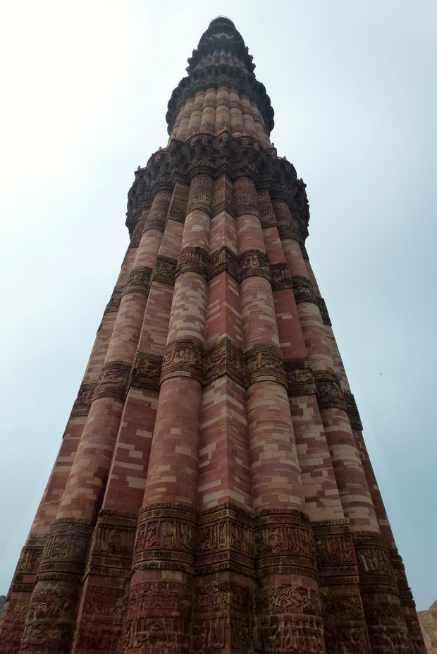 The Qutb Minar Tower.