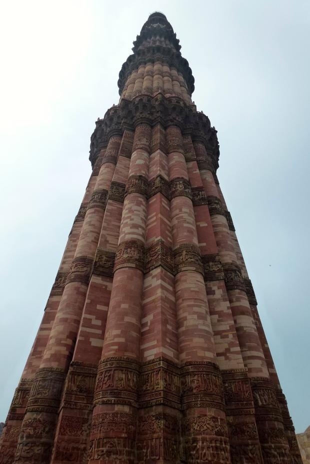 The Qutb Minar Tower.