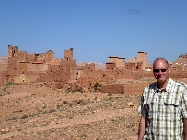Tamdaght Kasbah, near Ait Ben Haddou, where the surrounding countryside  and ksars were used in the filming of the movie Gladiator, with Russell Crowe.