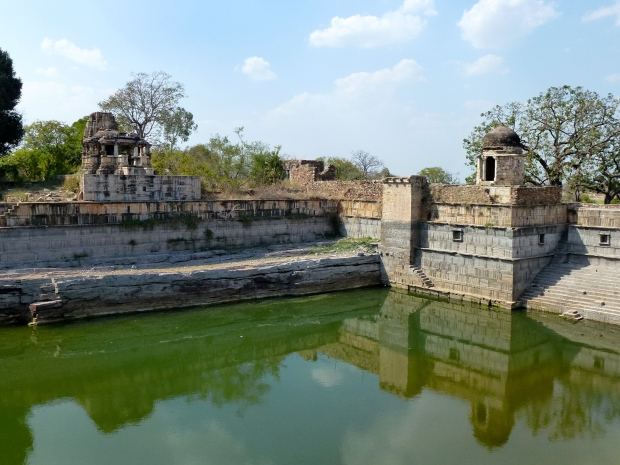 One of Chittorgarh's reservoirs.