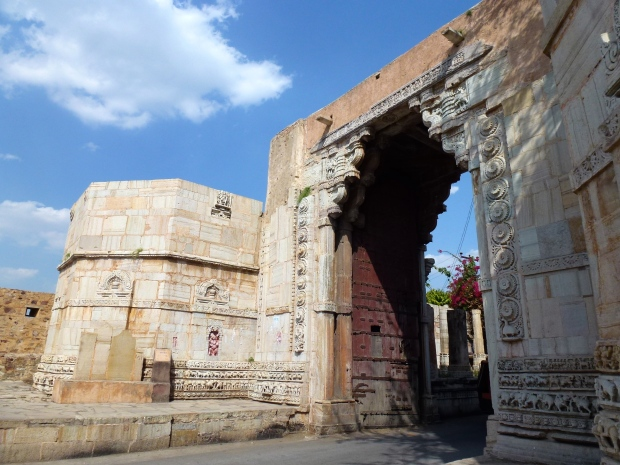 One of the gates (Ram Pol) into Chittorgarh.
