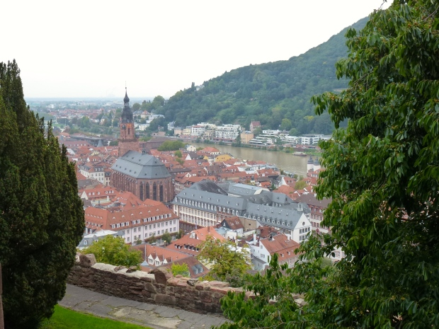 A view of Alstadt (Old Town) from the Castle grounds.