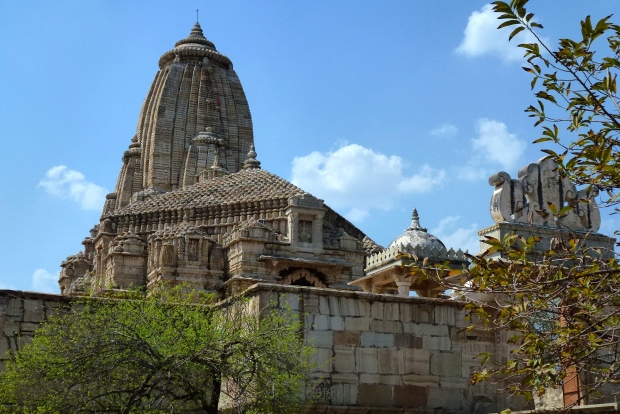 A Jain Temple at Chittorgarh.