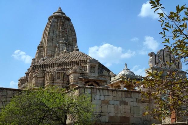 A Jain Temple at Chittorgarh.