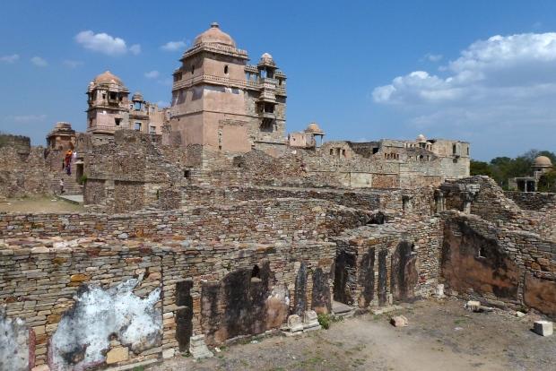 Another view of Rana Kumbha Palace.