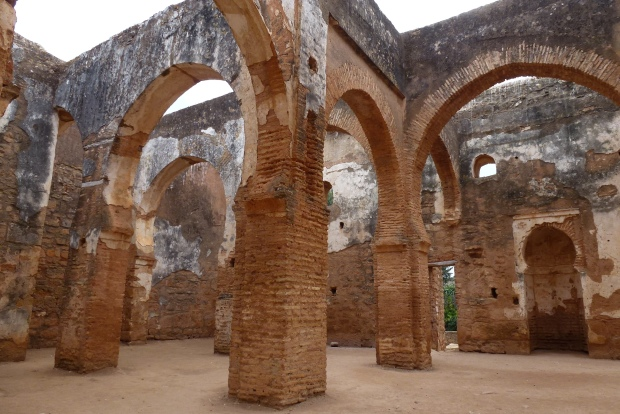 Another view of the Islamic ruins at Chellah.