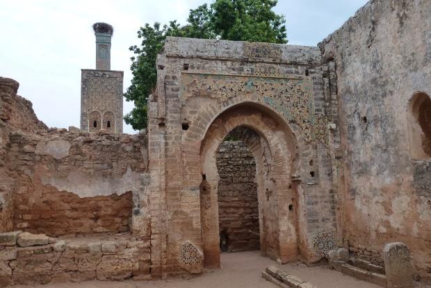 The Islamic ruins at Chellah.