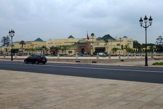 The Royal Palace in Rabat.