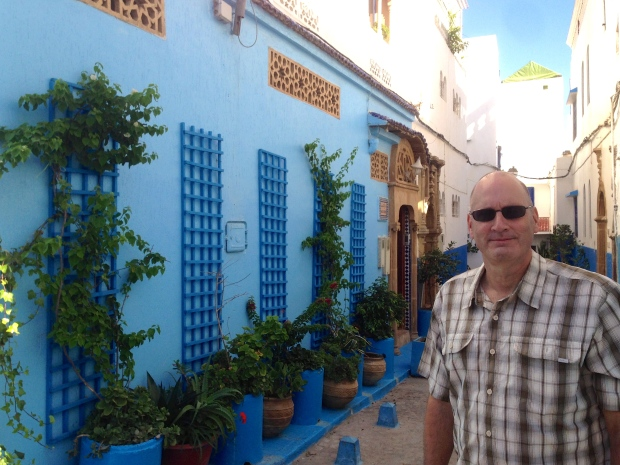 One of the quaint streets in the Kasbah.