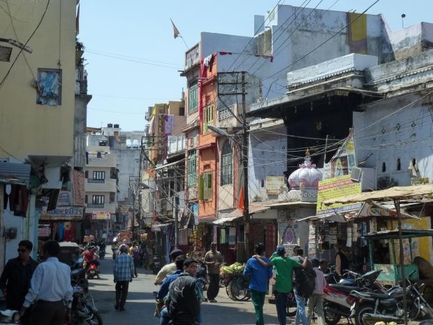 Street scene in Udaipur.