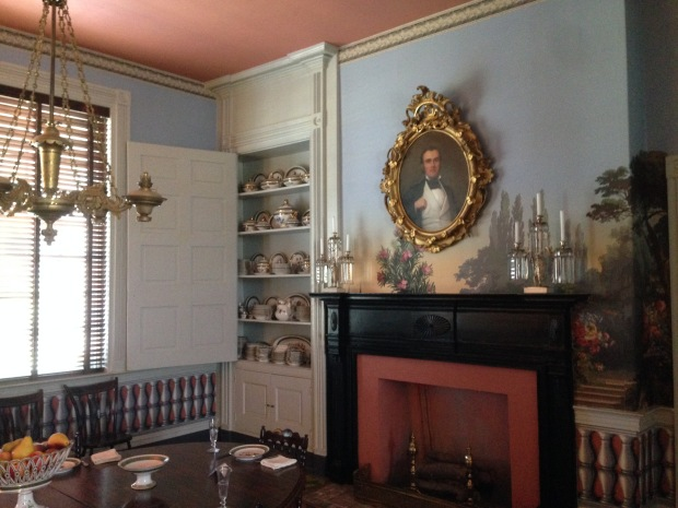 Interior view of the Carnton Plantation home.