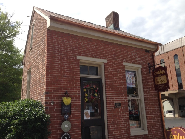 This tiny building served as the Headquarters of the Union Army in Franklin.