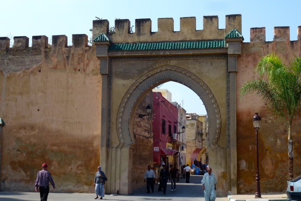 One of the many gates in Meknes.
