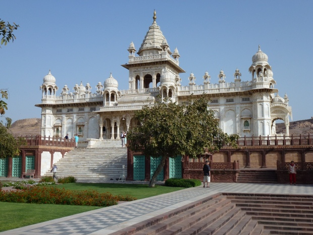 A view of the Jaswant Thada.
