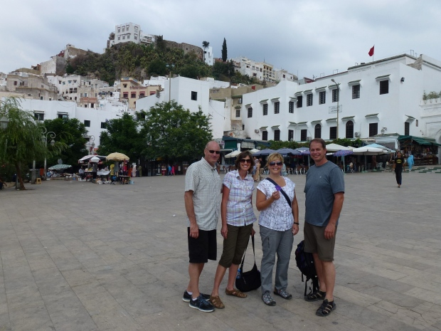 The main square of Moulay Idriss.