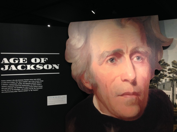 The visitor's center provides an extensive overview of the U.S. during the time of Jackson.
