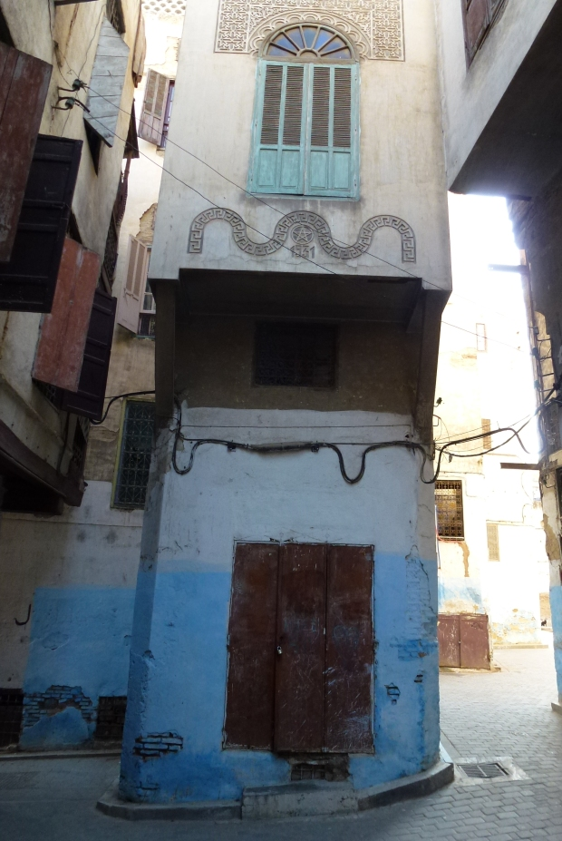 Look closely at the decorations on the 2nd story and you'll see a Star of David, and note the year - 1531.