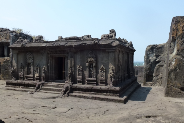 Cave 15, a Hindu temple.