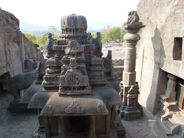 Known as Cave 32, this is a Jain temple at the northern end of the Ellora complex.