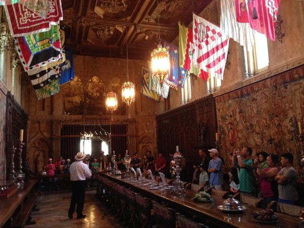 The dining hall.