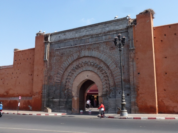 The Bab Agnaou gate.