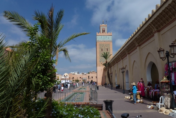 The Kasbah Mosque and minaret.