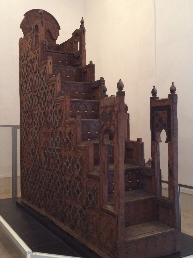The 12th century minbar - eight years in the making! An incredible piece of art and history.