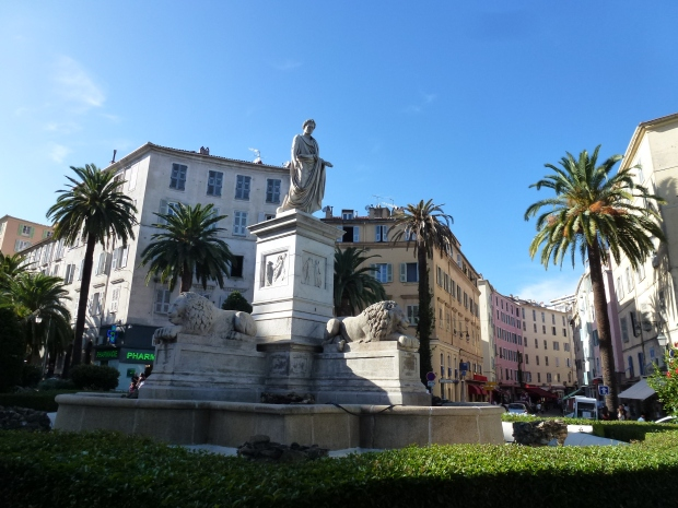 Napoleon Statue Ajaccio Corsica (26)