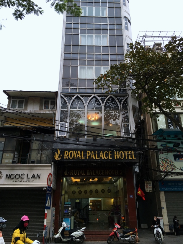 Royal Palace Hotel, Old Quarter, Hanoi, Vietnam.