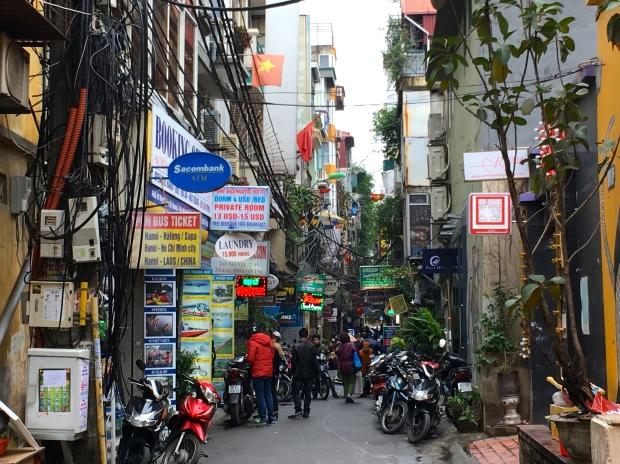 Hanoi Old Quarter, Vietnam.