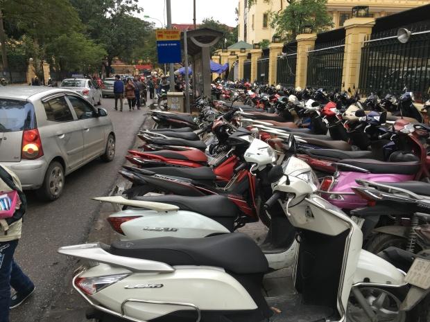 Hanoi, Vietnam Old Quarter.