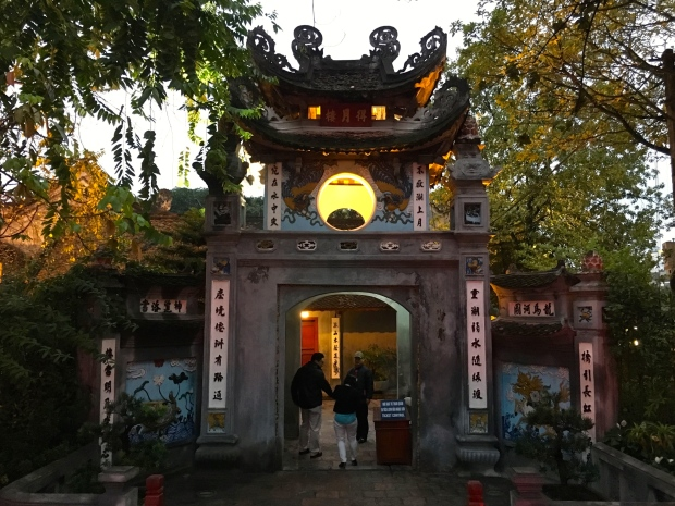 Temple of the Jade Mountain, Old Quarter, Hanoi, Vietnam.