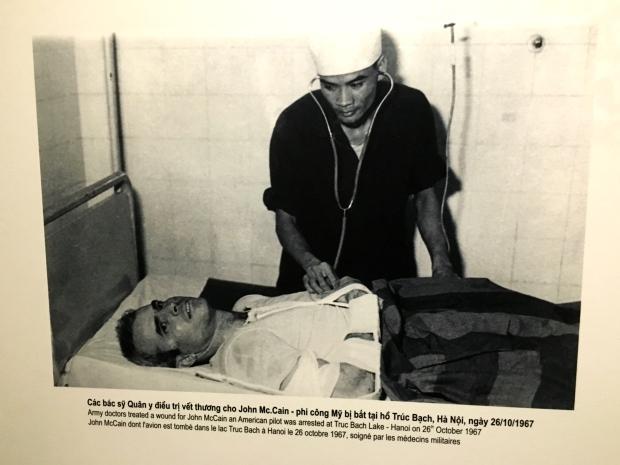 John McCain, Hoa Lo Prison, Hanoi, Vietnam
