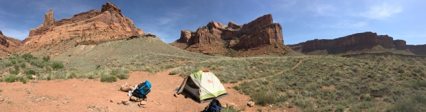 Syncline Trail Campsite Canyonlands