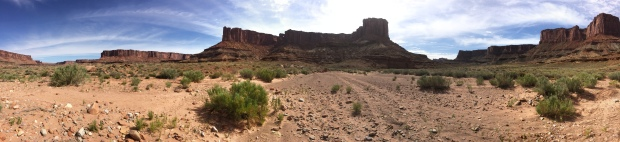 Panorama Upheaval Canyon Canyonlands