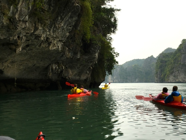 Ha Long Bay Kayaking, Vietnam