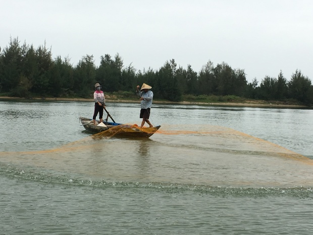 The Ban River, Hoi An, Vietnam