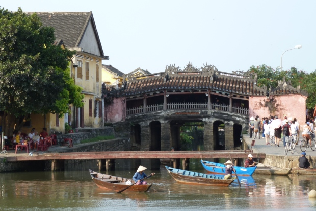 Japanese Bridge. Hoi An, Vietnam