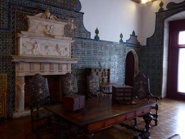 Palacio de Sintra, Portugal.