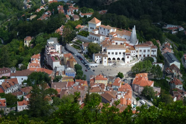 Palace of Sintra, Portugal.