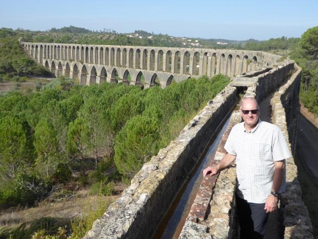 Tomar aqueduct, Portugal.