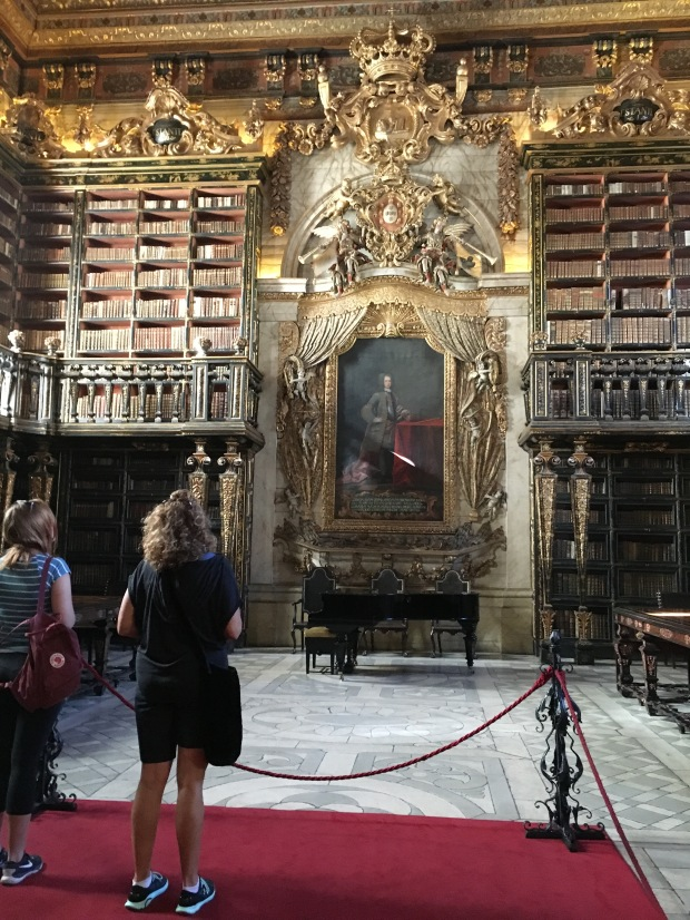 Joanine Library, Coimbra University, Portugal
