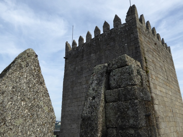 Guimaraes Castle, Portugal.
